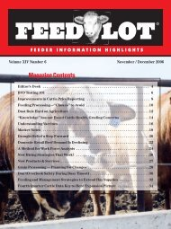November/December - Feedlot Magazine