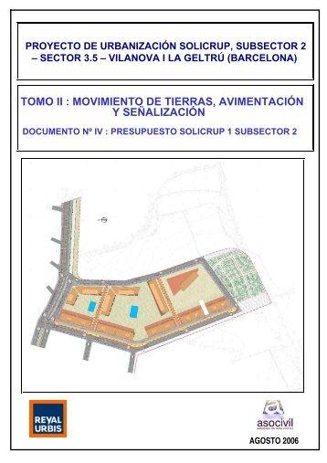 tomo ii : movimiento de tierras, avimentación y señalización