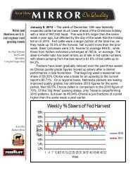 January 9, 2012 – The week of December 19th ... - Feedlot Magazine