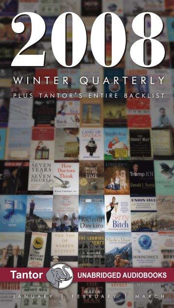 Tantor - Winter Quarterly Plus Tantor's Entire Backlist - Tantor Media