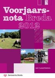 Voorjaarsnota 2012 - Gemeente Breda