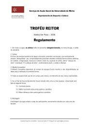 Regulamento Voleibol de Praia 06.pdf - Universidade do Minho