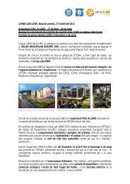 Nota de premsa - Institut de Sostenibilitat