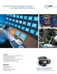 1703GNB SPRD - Berkeley Nucleonics Corporation