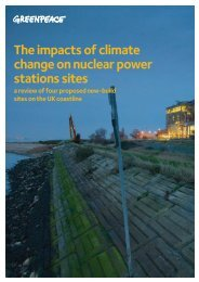 The impacts of climate change on nuclear power stations sites