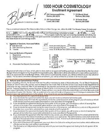 Enrollment Agreement Student Loan Borrowers Assistance