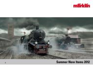 Summer New Items 2012 - Marklin