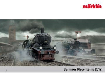 Summer New Items 2012 - Marklin