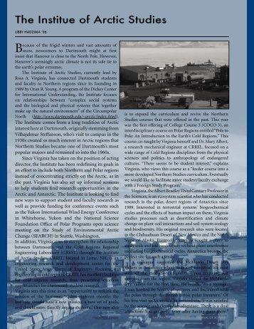 Institute of Artic Studies - Dartmouth College