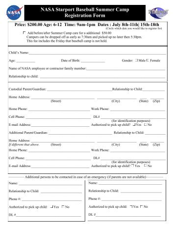 Astronaut Application Form Outer Space Line Up Chant Classroom ...