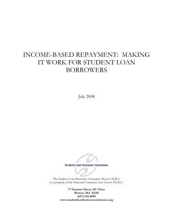 Income-Based Repayment Plan Alternative Documentation Of Income