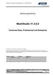 MeshStudio Manual deutsch - Schlatter