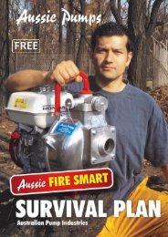Bush Fire Protection Guide - Aussie Pumps