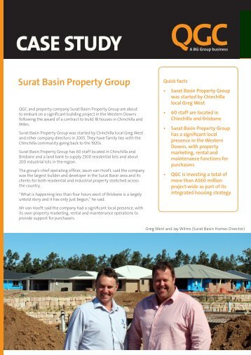 Surat Basin Property Group - QGC