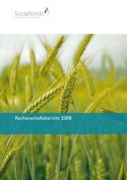 Rechenschaftsbericht 2008 - Sozialfonds