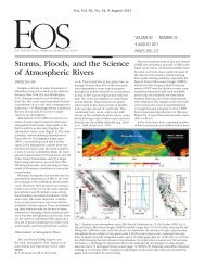Storms, Floods, and the Science of Atmospheric Rivers