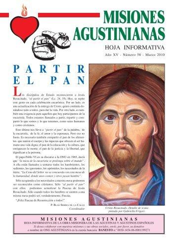 misiones agustinianas nº58.qxp - agustinos de la provincia del ...