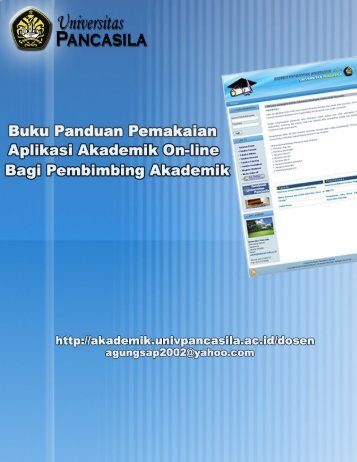 Buku Panduan Bagi Dosen PA - Akademik Online