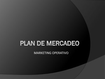 PARTES DE UN PLAN DE MERCADEO