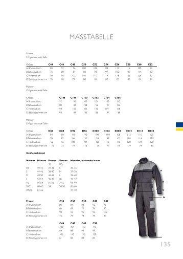 135 MASSTABELLE - Visual Team GmbH