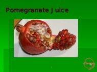 Pomegranate Juice - Juice Products Association