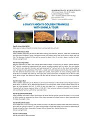 8 days/7 nights golden triangle with shimla tour - Easy Ticket