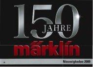 Märklin Nieuwigheden folder 2009 - Marklin