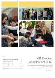 KIB Zwickau Jahresbericht 2009
