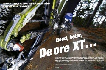 Goed, beter, Deore XT… - Fietssportief