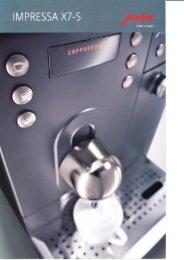 Impressa X7-S - Die Kaffee Firma