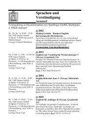 Sprachen 11 - Arnstorf