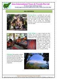 Bali & Bandung - Anu International Tours & Travels Pte. Ltd.