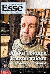 Esse 15/2013 (pdf) - Espoon seurakuntasanomat