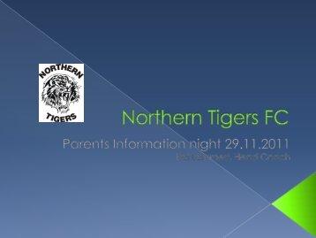 Volker Buhl - Northern Tigers FC