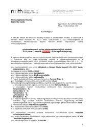 BJ/13363-3/2013. számú elsőfokú határozat a ... - Nemzeti Média