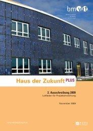 Leitfaden für die Projekteinreichung - Haus der Zukunft
