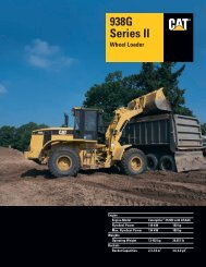 Specalog for 938G Series II Wheel Loader, AEHQ5538 - Kelly Tractor