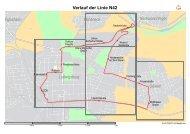 Verlauf der Linie N42