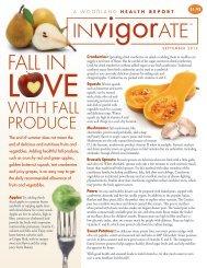 Fall Produce/Spices of Life - Woodland Publishing