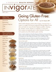Going Gluten-Free: - Woodland Publishing