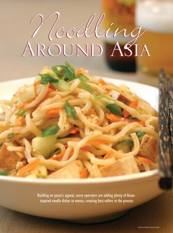 Noodling Around Asia - Southeast Asian Flavors