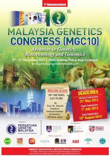 MGC 1st Ann_6 - Persatuan Genetik Malaysia