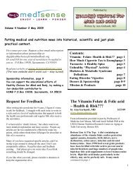 May 2009 - Healthy Choices for Mind and Body