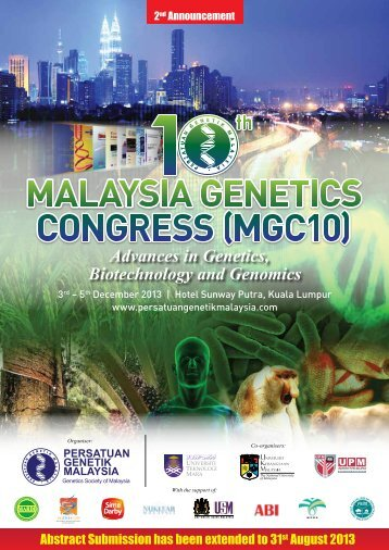 MGC 2nd Ann_3 - Persatuan Genetik Malaysia