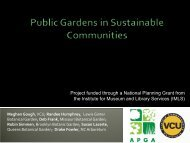 Greening the City through Creative Partnerships - American Public ...