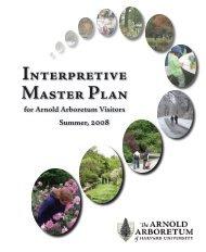 Interpretive Master Plan - American Public Gardens Association