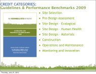 The Sustainable Sites Initiative - American Public Gardens Association