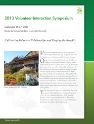 Check out the symposium brochure - American Public Gardens ...