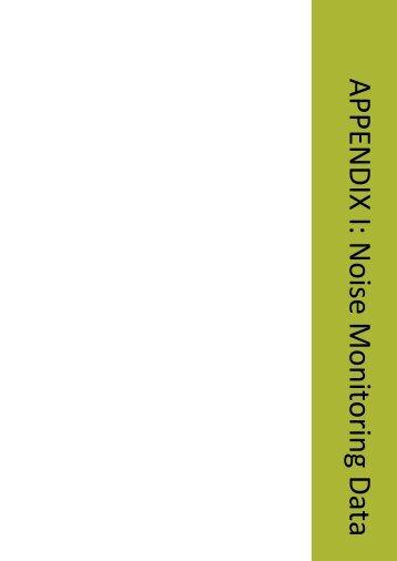 APPENDIX I: Noise Monitoring Data - Xstrata Coal Mangoola