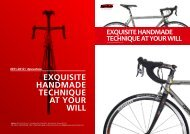 exquisite handmade technique at your will - Pro Bike Center